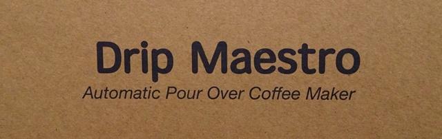 Drip Maestro コーヒーメーカー